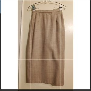 Christian Dior The Suit Skirt